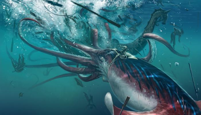 Scientists decoded the giant squid genome and saw that this creature has a very developed brain 1