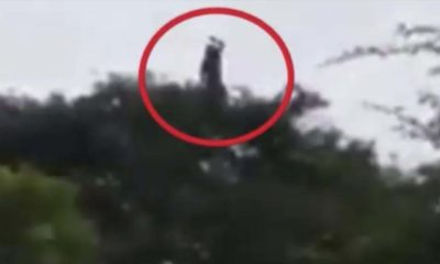 A chilling video shows La Llorona in a town in Colombia 97