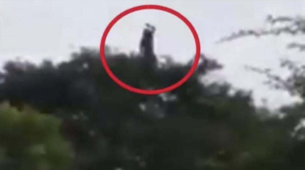 A chilling video shows La Llorona in a town in Colombia 86