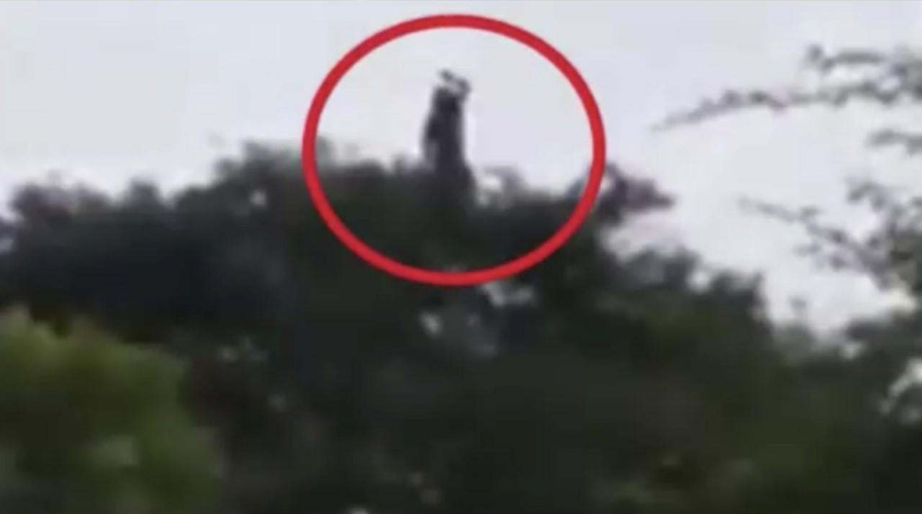 A chilling video shows La Llorona in a town in Colombia
