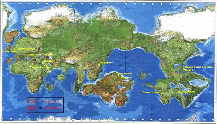 Lemuria and Atlantis: Lost continents and origin of the first civilizations 14