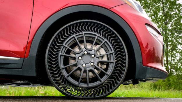 By 2024 GM And Michelin Will Bring Airless Tires To Passenger Cars 86