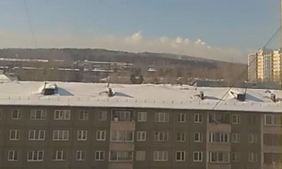 """This is an anomaly!"": Unusual ring-clouds appeared in the sky above Russian city 98"