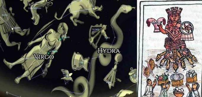 The great mystery of the the seven-headed hydra figure of the deity worshiped throughout the ancient world 90