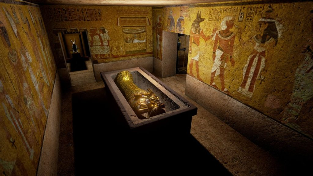 A possible grave of Nefertiti was found in the tomb of Tutankhamun 87