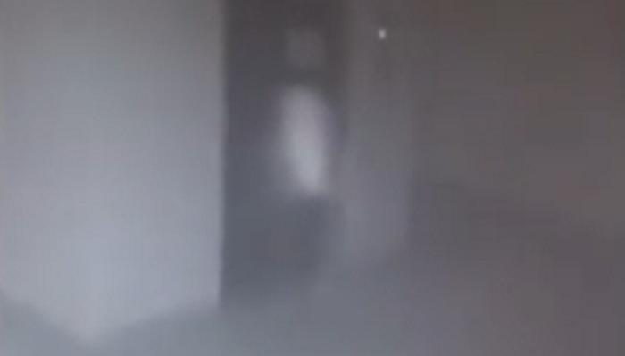 A Child Ghost Apparition Captured On School CCTV in Armenia 19