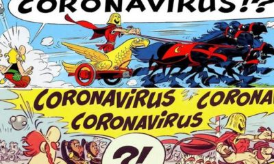 Coronavirus was mentioned in a popular 2017 comic 88