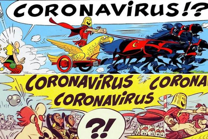 Coronavirus was mentioned in a popular 2017 comic 1