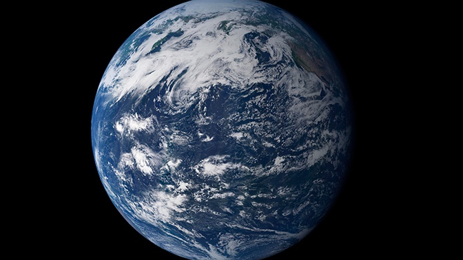 How our planet appeared: an unexpected scenario of the origin of earth 86