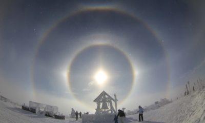 5 Suns: A strange phenomenon in the sky frightened the inhabitants of Inner Mongolia 87
