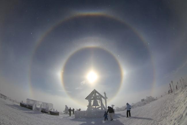 5 Suns: A strange phenomenon in the sky frightened the inhabitants of Inner Mongolia 11