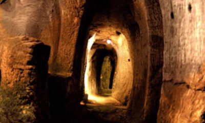Archaeologists have found a network of hidden tunnels that run across Europe 89