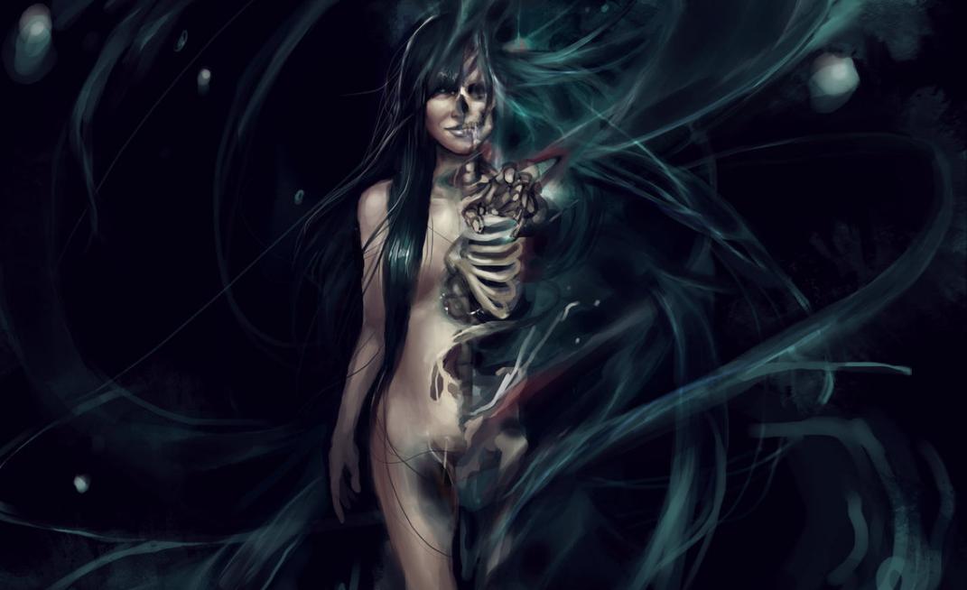 Hel Scandinavian goddess of death 3
