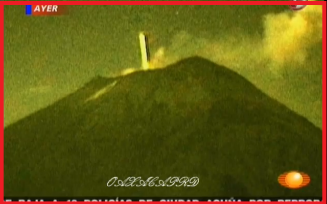 The strange activity around these volcanoes attract ufologists from all over the world 2