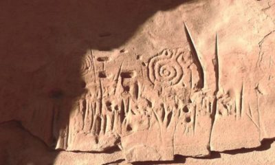 Rock carvings of a disappeared pueblo civilization found. A Star Map? 87
