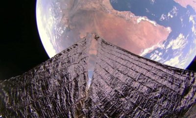 Space sailing ship sent amazing pictures of the Earth 87