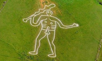 Researchers will determine the age of the 'Giant of Cerne Abbas' geoglyph 86
