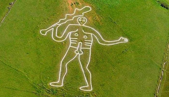 Researchers will determine the age of the 'Giant of Cerne Abbas' geoglyph 1