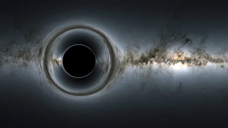 Black holes may turn out to be portals for traveling through space and time 97