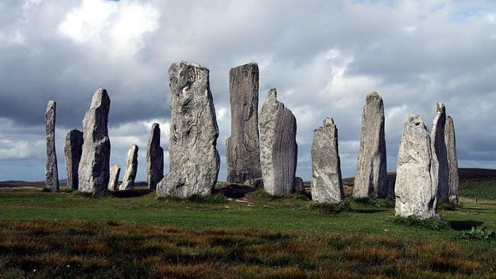 Druids of Scotland used lightning in their rites 1