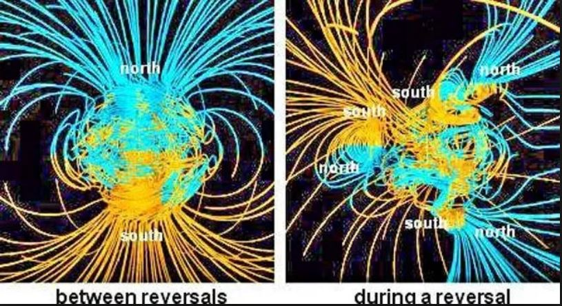 The poles are shifting, the magnetic field is turning over and it will be very unpleasant for our civilization! 96