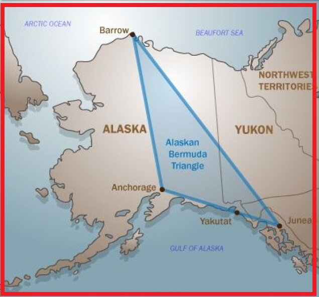 "The ""Second Bermuda Triangle"" is located in Alaska. The media and the government bypass this topic 88"