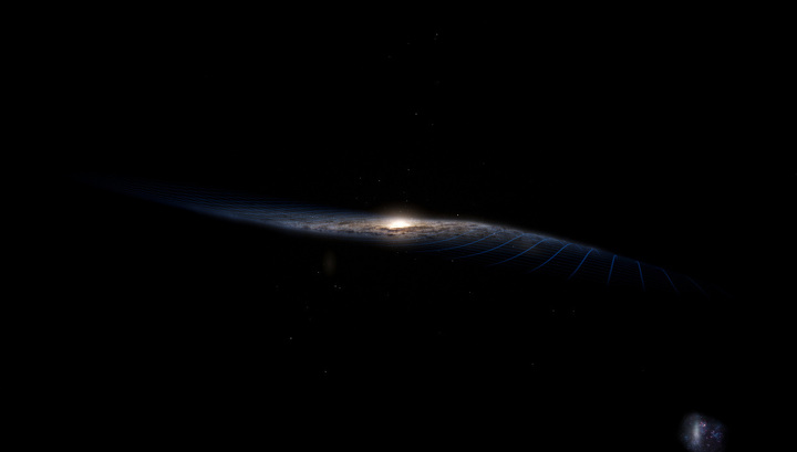Astronomers: Another Galaxy Curves the Milky Way Ahead of a Collision 18