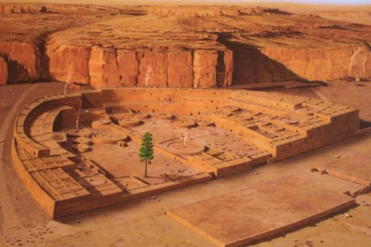 "The mystery of the Anasazi, the mystical ""tree of life"" 87"