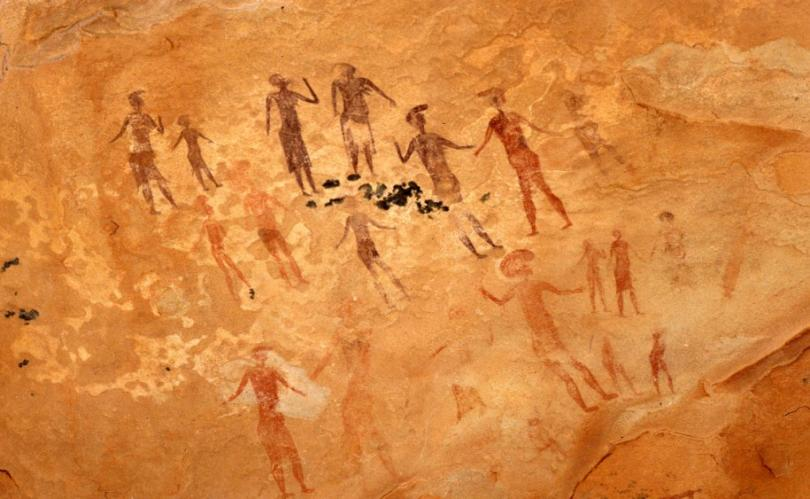 Mysterious frescoes depicting fantastic creatures found in Sahara 89
