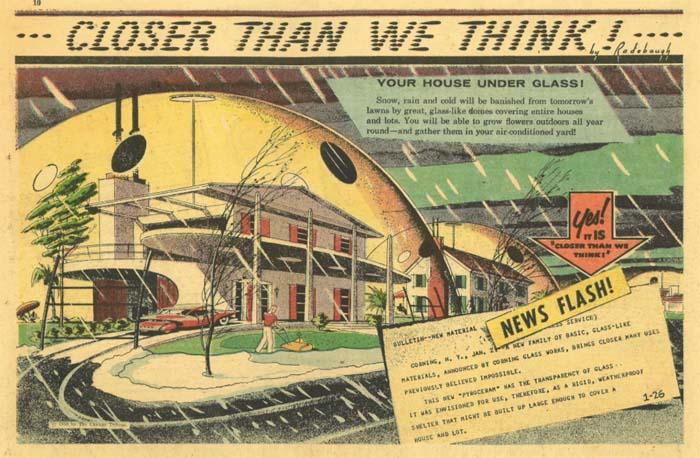 House of the Future Under the Dome (Arthur Radebo Comics)
