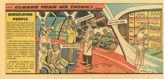 Human Spare Parts (Arthur Radebo Comics)