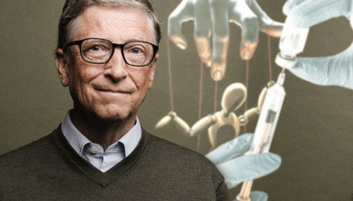 "Bill Gates reacts to the ""vaccine conspiracy theory"" 14"