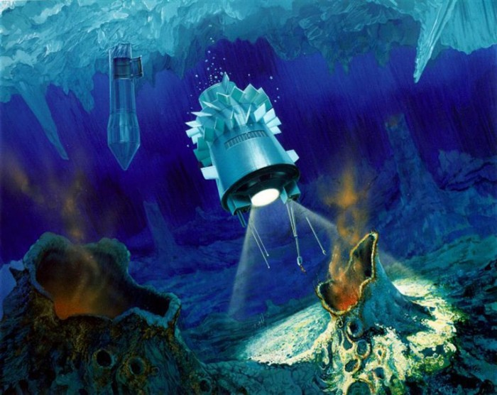 Aliens at Jupiter: under the icy shell of Europe it is possible to meet higher forms of life 94