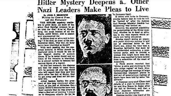 The mystery of the death of Adolf Hitler 2