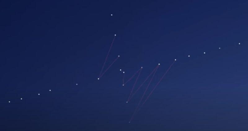 "Starlink satellite ""Tholian web"" - Pentagon's Earth enslavement project? 3"