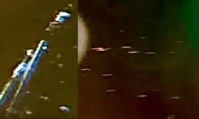 UFO flotillas near ISS and a Black UFO flying over Fairview, Texas 88