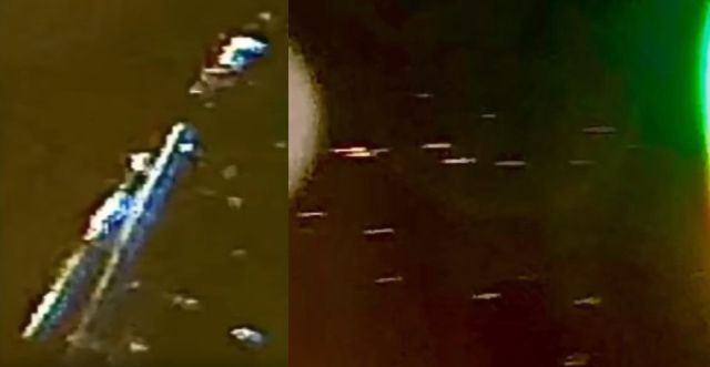 UFO flotillas near ISS and a Black UFO flying over Fairview, Texas 7