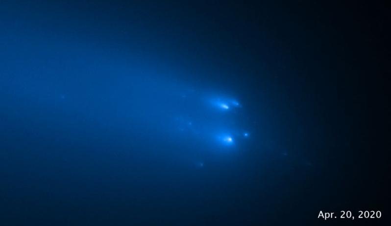 The nucleus of the comet Atlas has split into 25 parts 1