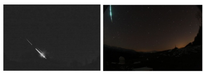 Two meteorites exploded in one hour over Belgium, another over South Germany a few hours later 6