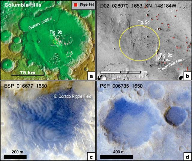 Air & Space (USA): life flourished on Mars in the past 87