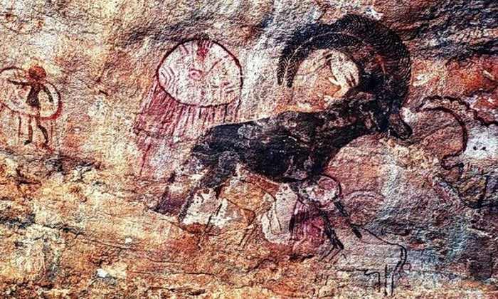 Mysterious frescoes depicting fantastic creatures found in Sahara 86
