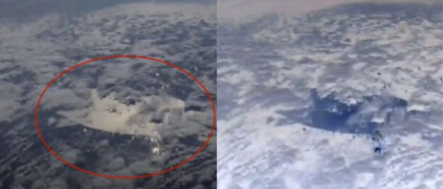 ISS cameras capture something mysterious in the Earth's atmosphere 87
