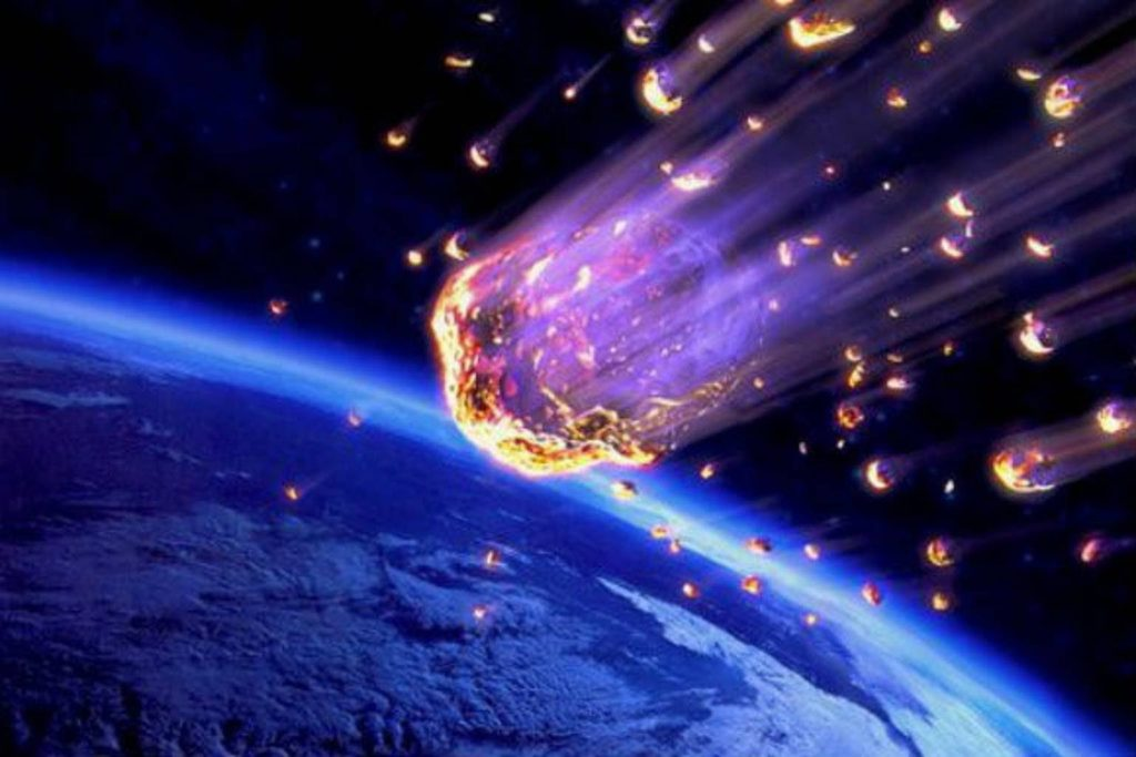 Meteorites rain down on Earth - what is the reason? 8