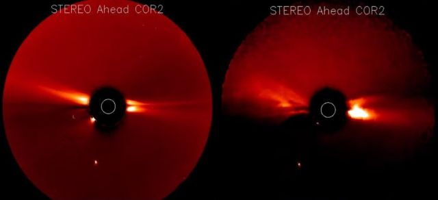 ISS cameras capture something mysterious in the Earth's atmosphere 88