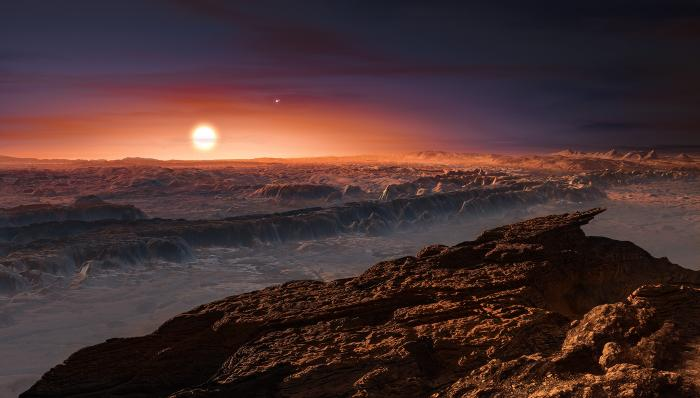 Astrophysicists consider the atmosphere of the exoplanet Proxima b suitable for life 10