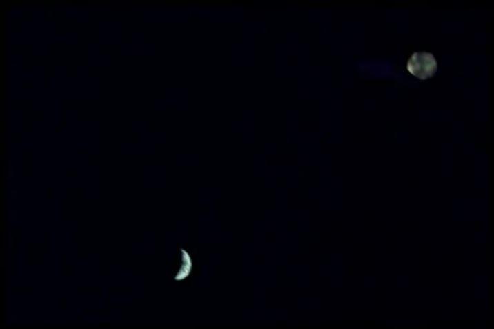 Rainbow UFO seen in Apollo 13 images 2