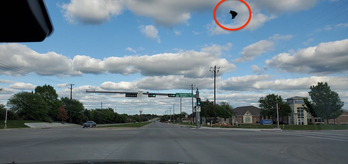 UFO flotillas near ISS and a Black UFO flying over Fairview, Texas 94