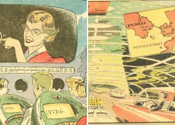 What predictions of the futurists of the 1950s have already come true, and which will soon come true: distance learning, drones, etc. 87