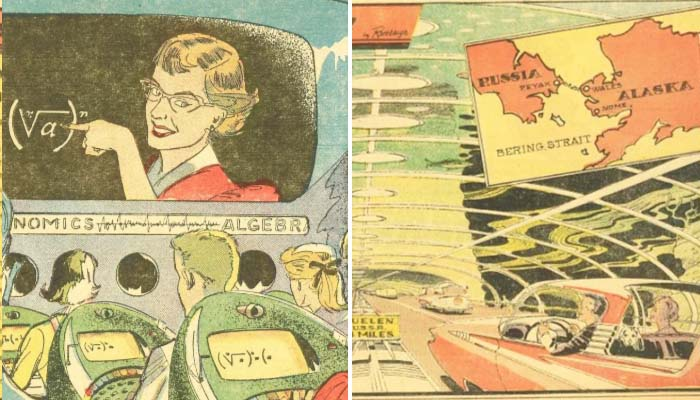 What predictions of the futurists of the 1950s have already come true, and which will soon come true: distance learning, drones, etc. 1