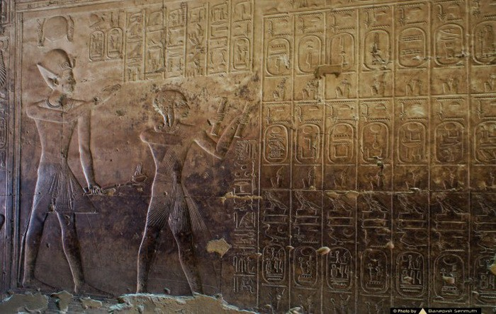 Helicopter, tank, submarine: what is actually depicted on the walls of the temple in Abydos 90